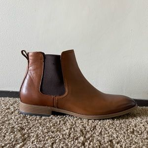 Aldo Brown leather Chelsea boots
